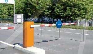 barreiras de estacionamento